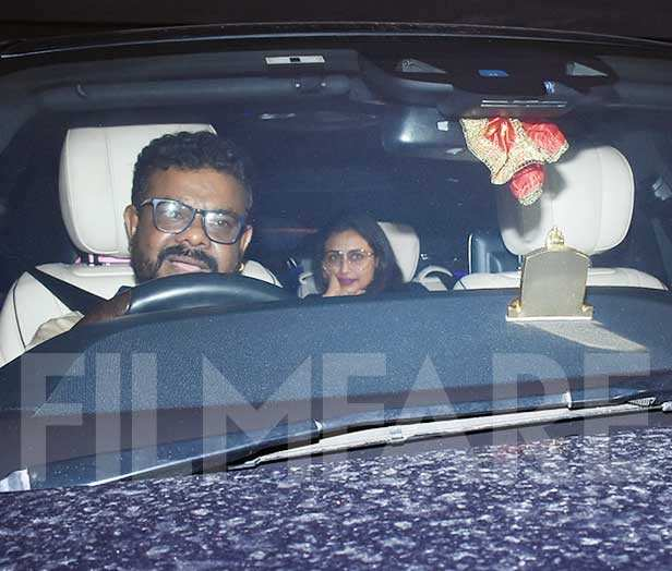 Aditya Chopra and Rani Mukerji head out for dinner with ...