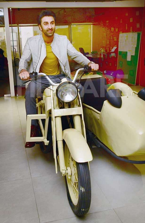 Rajkumar Hirani, Ranbir Kapoor