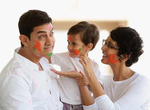 Aamir Khan, Azad Rao Khan and Kiran Rao