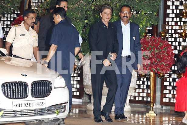 Shah Rukh Khan, Gauri Khan, Akash Ambani