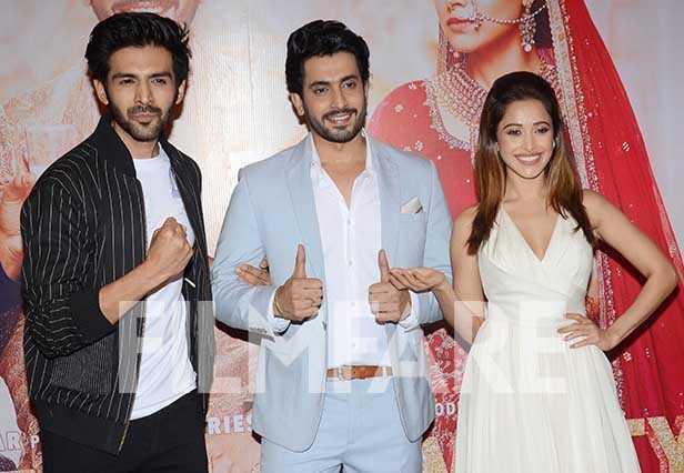Kartik Aaryan, Nushrat Bharucha, Sunny Singh