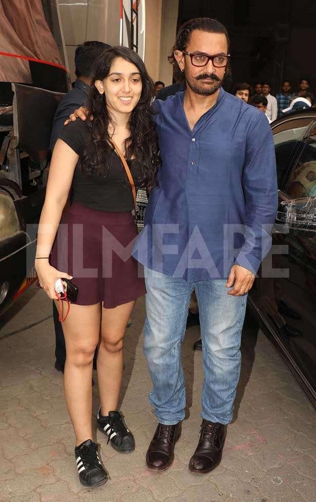 Ira Khan, Aamir Khan, Junaid Khan