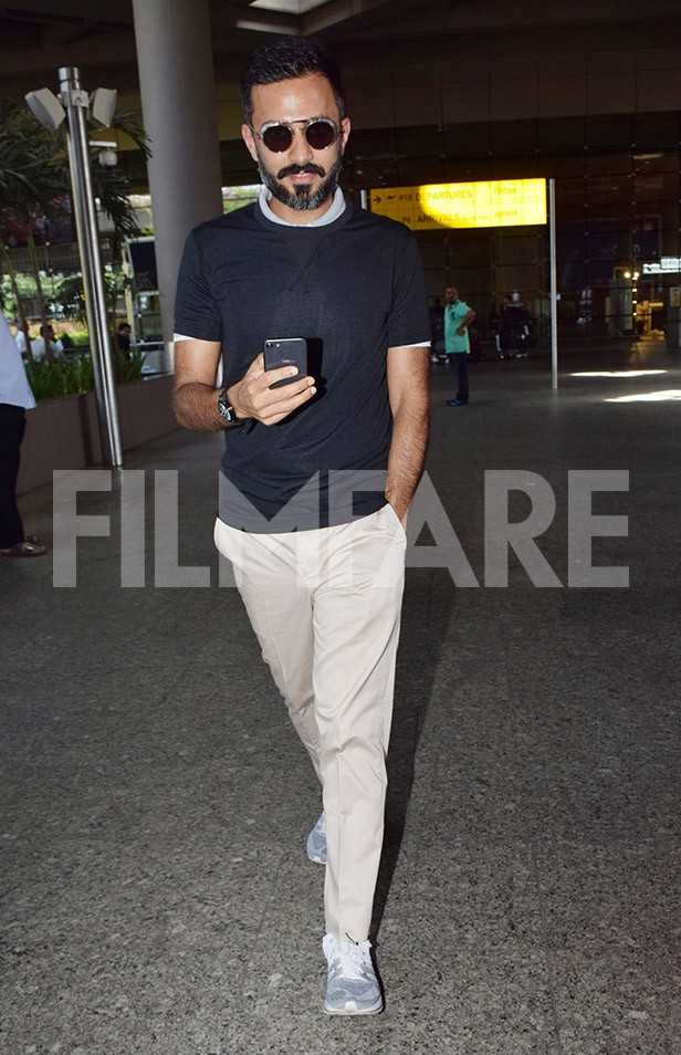 Exciting! Groom-to-be Anand Ahuja arrives in Mumbai ahead of his wedding