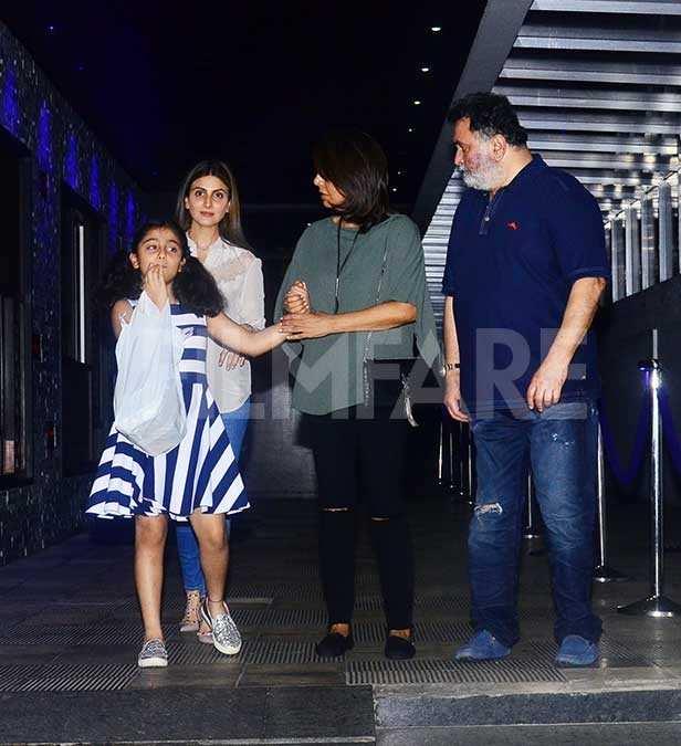 Samara Sahni, Riddhima Kapoor Sahani, Neetu Kapoor, Rishi Kapoor