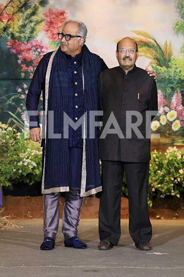 Boney Kapoor, Jackie Shroff, Ayesha Shroff, Maheep  Kapoor, Shanaya Kapoor
