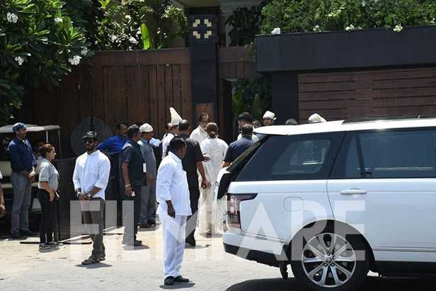 Amitabh Bachchan, Shweta Bachchan Nanda