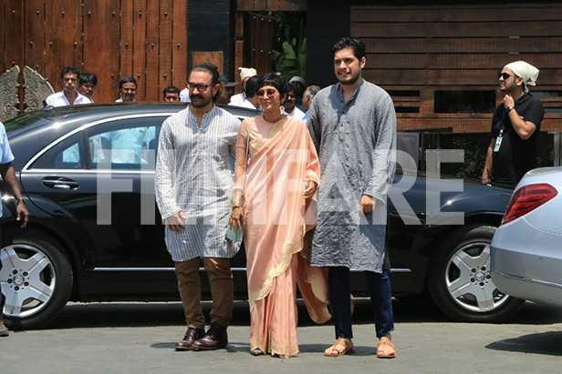 Aamir Khan, Kiran Rao, Junaid Khan