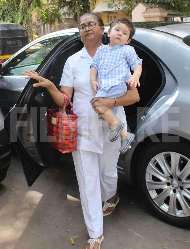 Taimur Ali Khan, Tusshar Kapoor, Laksshya Kapoor