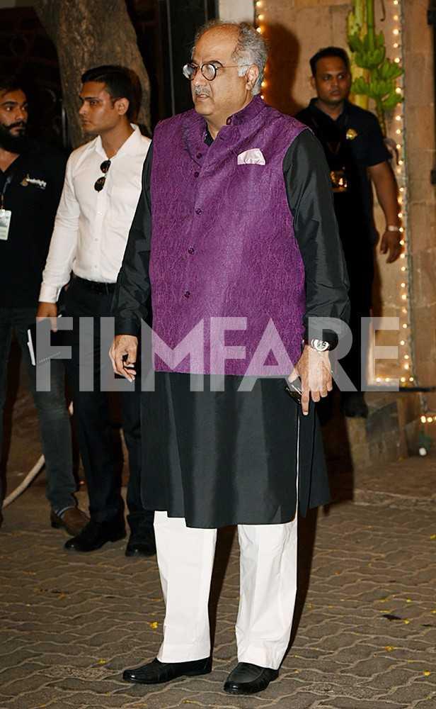 Boney Kapoor, Arjun Kapoor, Sanjay Kapoor, Jahaan Kapoor