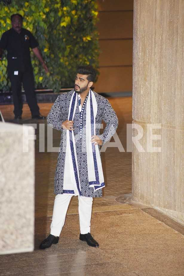 Arjun Kapoor, Rani Mukerji, Karan Johar