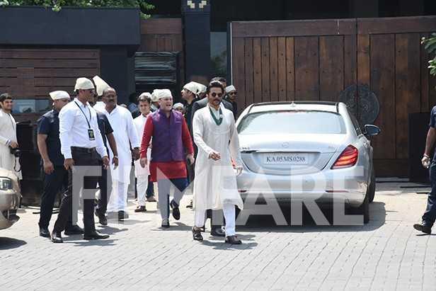 Anil Kapoor, Sanjay Kapoor, Maheep Kapoor, Anshula Kapoor