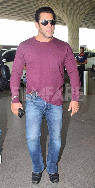 Salman Khan, Atul Agnihotri, Alvira Khan Agnihotri