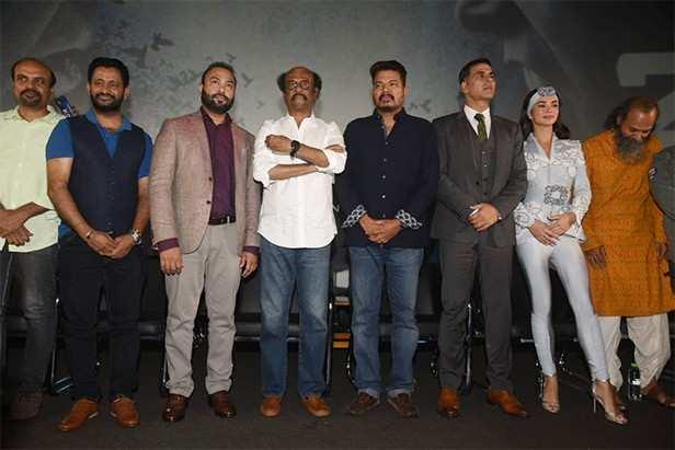 Rajinikanth, Akshay Kumar, Amy Jackson