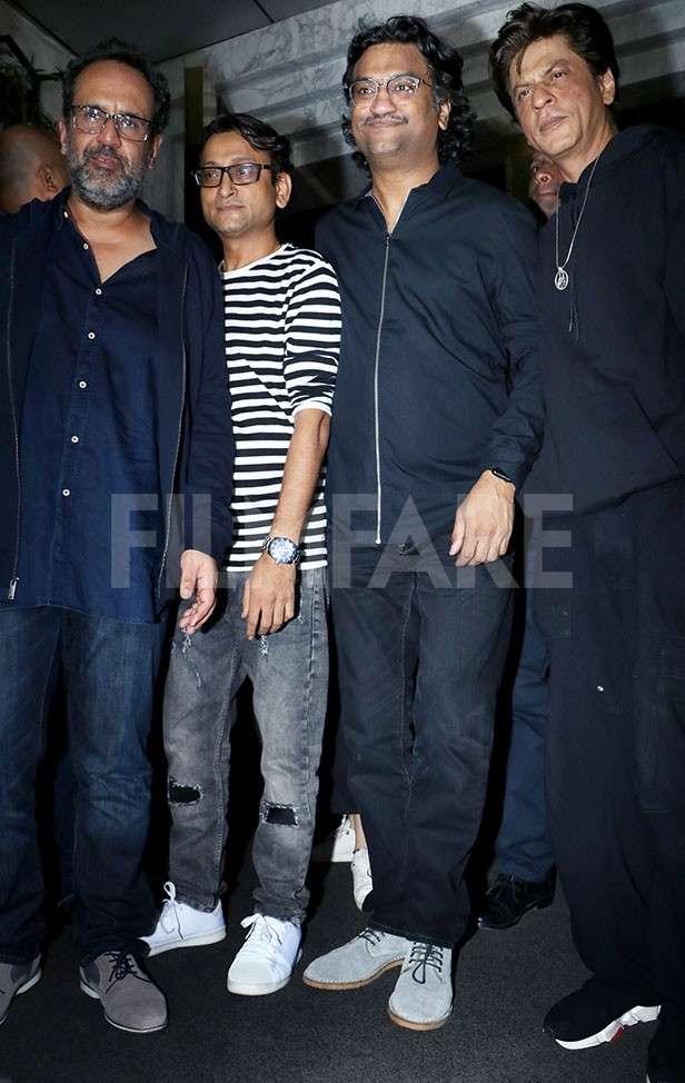 Anand L. Rai, Ajay-Atul, Shah Rukh Khan