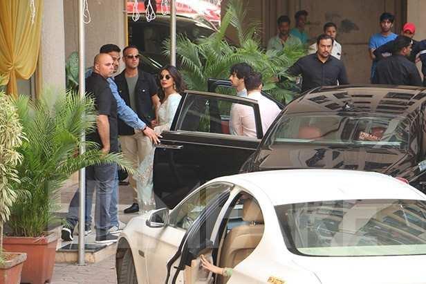 Priyanka Chopra, Joe Jonas, Nick Jonas