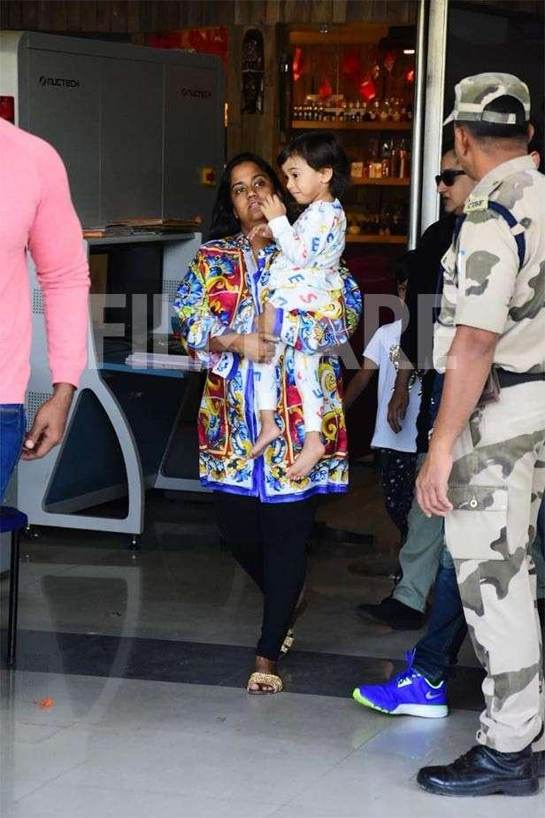 Arpita Khan Sharma, Ahil Sharma