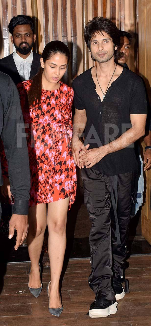 Shah Rukh Khan, Mira Kapoor, Shahid Kapoor, Varun Dhawan, Kartik Aaryan