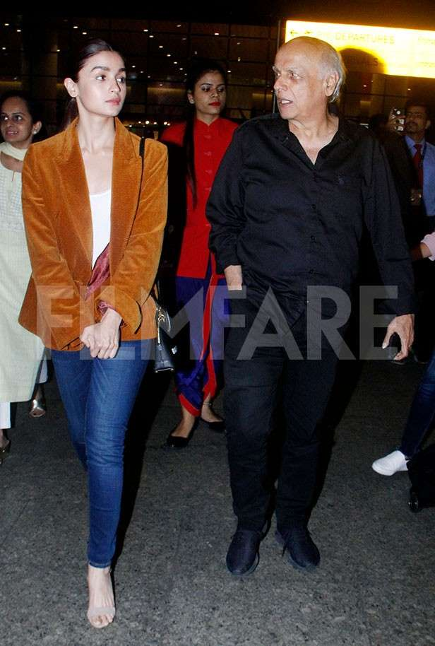 Alia Bhatt, Mahesh Bhatt