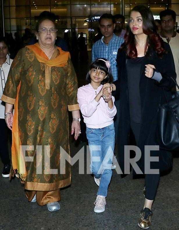 Brinda Rai, Aaradhya Bachchan, Aishwarya Bachchan
