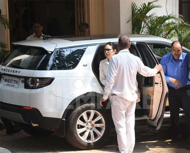 Randhir Kapoor, Rima Jain, Karisma Kapoor, Aadar Jain, Armaan Jain