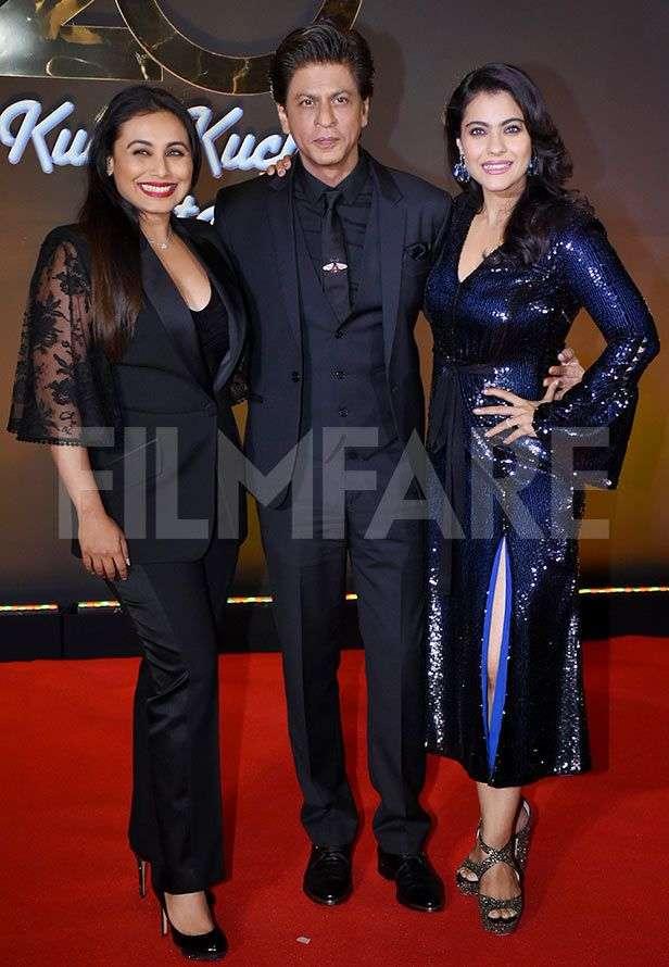 Rani Mukerji, Shah Rukh Khan, Kajol, Karan Johar