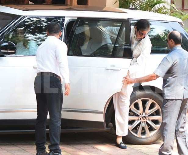 Shweta Bachchan Nanda, Amitabh Bachchan, Alia Bhatt, Rani Mukerji