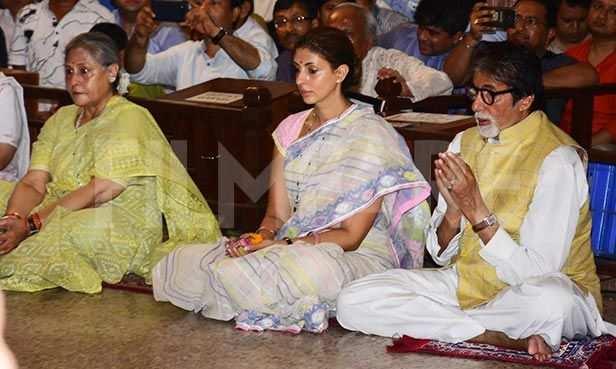 Jaya Bachchan, Shweta Bachchan Nanda, Amitabh Bachchan