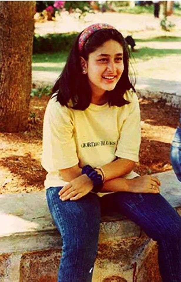 Image result for kareena kapoor childhood