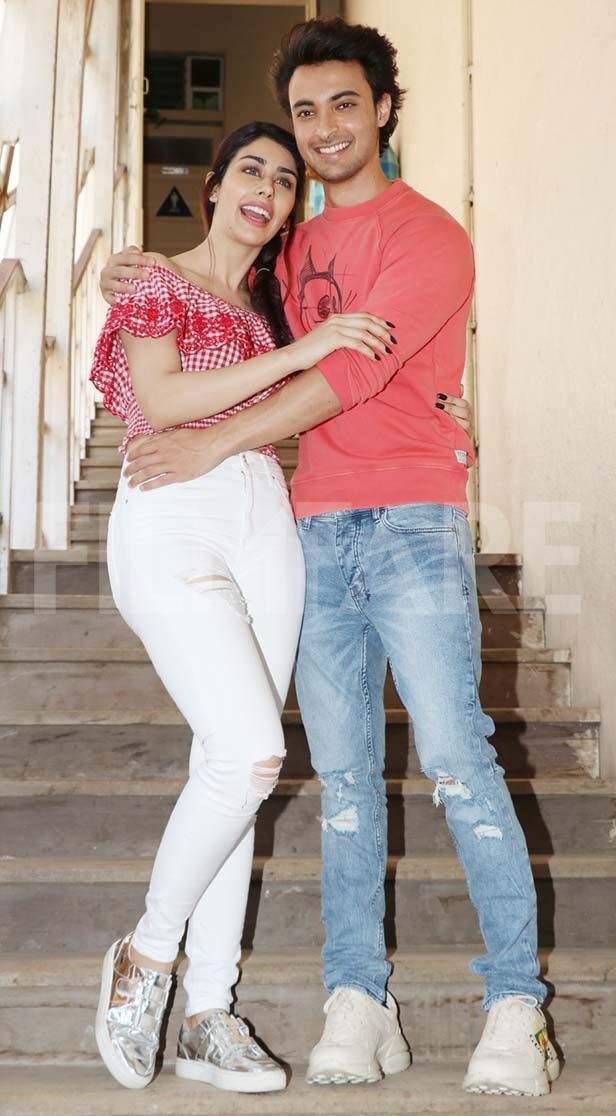 Warina Hussain, Aayush Sharma