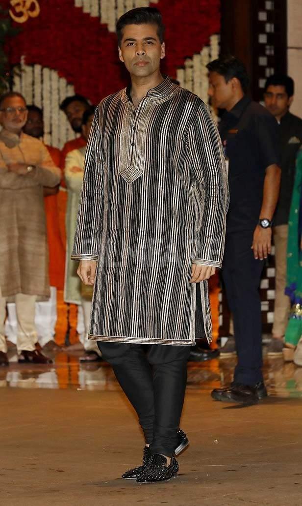 Karan Johar, Arjun Tendulkar, Sachin Tendulkar, Anjali Tendulkar