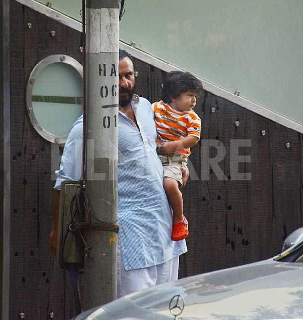 Saif Ali Khan, Taimur Ali Khan, Soha Ali Khan, Inaaya Naumi Kemmu