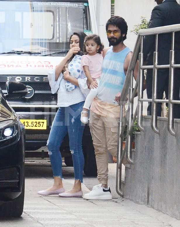 Mira Kapoor, Zain Kapoor, Misha Kapoor, Shahid Kapoor