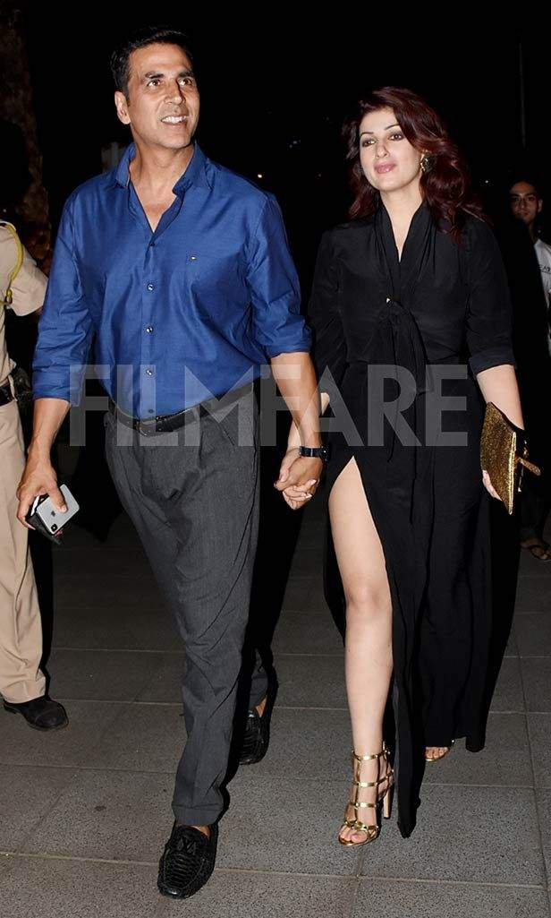Akshay Kumar Rings In His 51st Birthday With Twinkle Khanna Bobby
