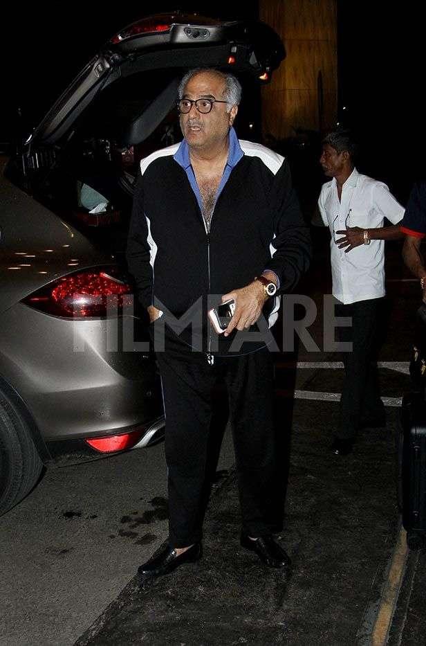 Boney Kapoor, Khushi Kapoor, Janhvi Kapoor