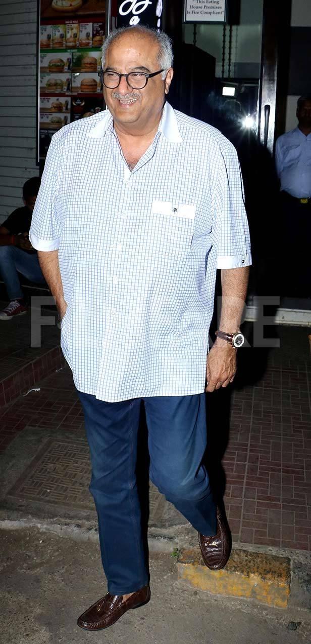 Boney Kapoor, Janhvi Kapoor