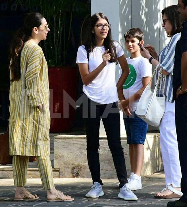 Samiera Kapoor, Kiaan Raj Kapoor, Babita Kapoor, Karisma Kapoor