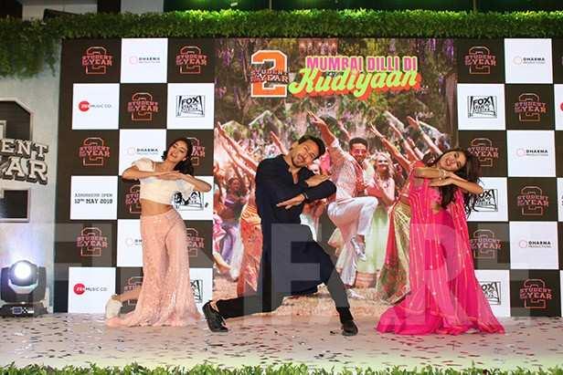 Ananya Panday, Tiger Shroff, Tara Sutaria