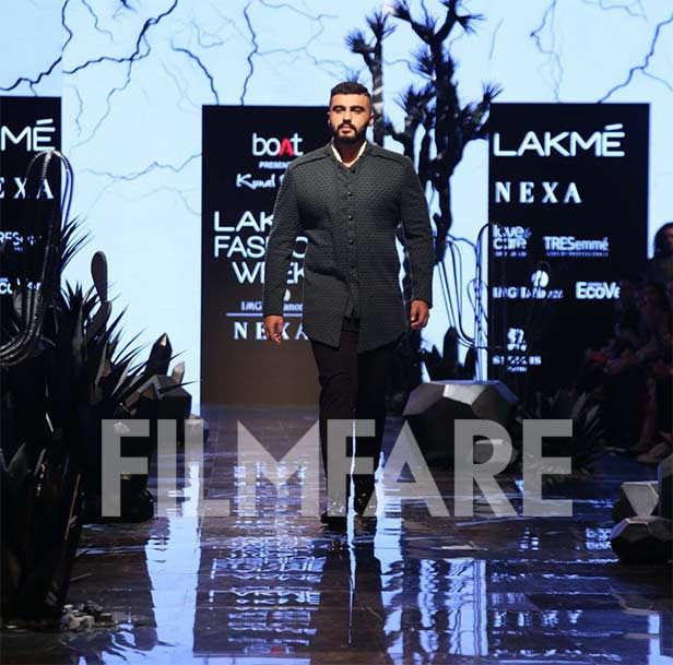 LFWWF'19: Arjun Kapoor turns showstopper for Kunal Rawal