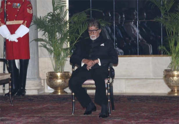 Amitabh Bachchan and President Ram Nath Kovind