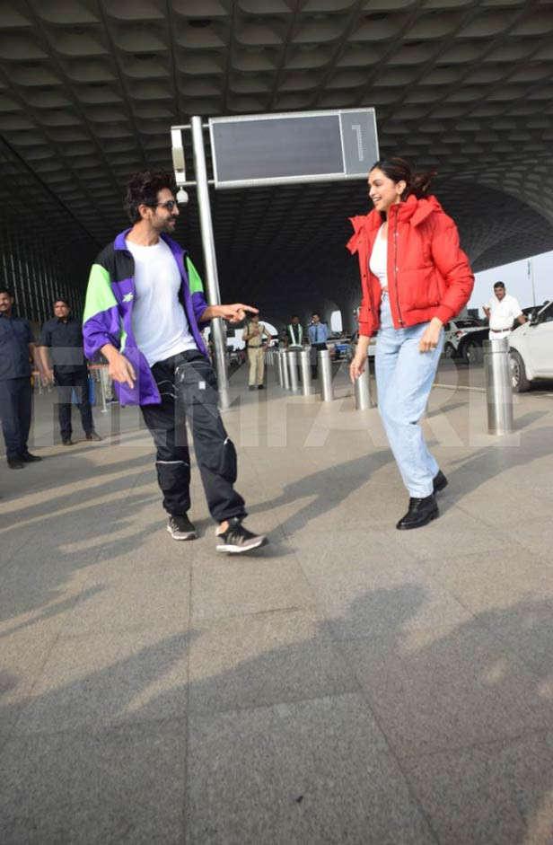 Deepika Padukone, Kartik Aaryan