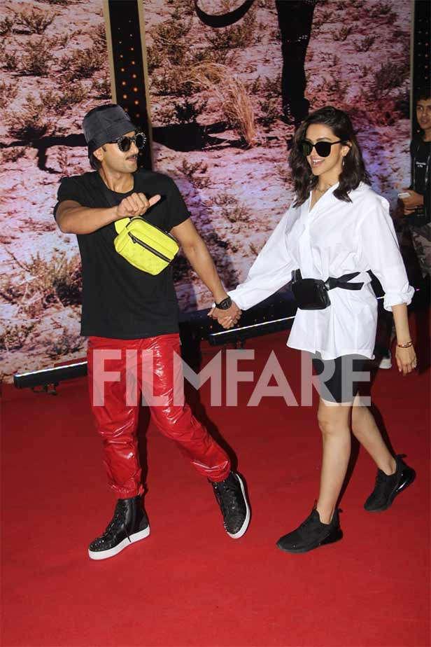 Ranveer Singh, Deepika Padukone At U2 Concert