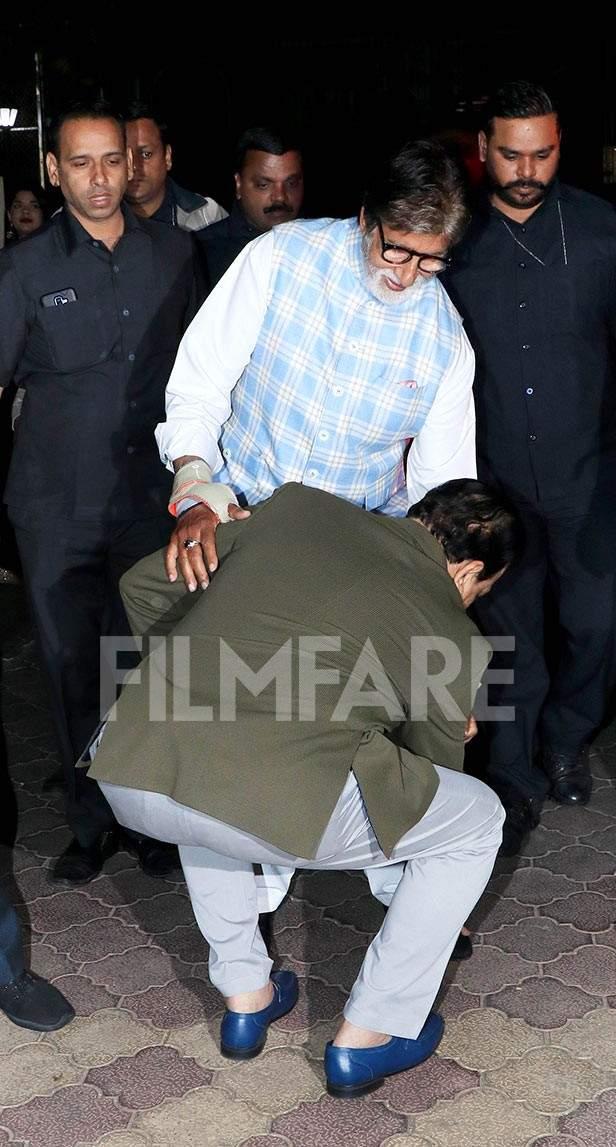 Govind Namdev, Amitabh Bachchan