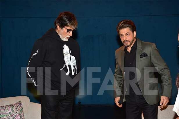 Shah Rukh Khan, Amitabh Bachchan