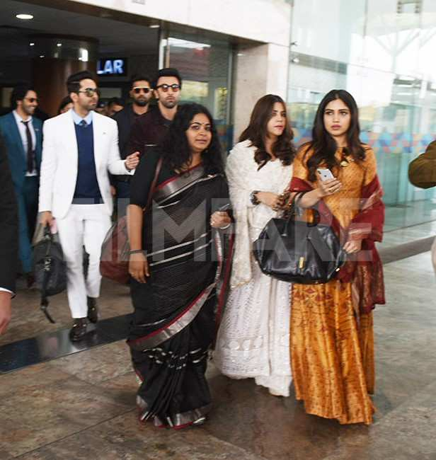 Bhumi Pednekar, Ekta Kapoor, Ranbir Kapoor, Ayushmann Khurrana, Vicky Kaushal, Varun Dhawan