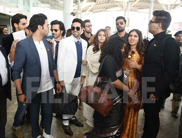 Karan Johar, Bhumi Pednekar, Ekta Kapoor, Ranbir Kapoor, Vicky Kaushal, Ayushmann Khurrana, Varun Dhawan, Sidharth Malhotra,