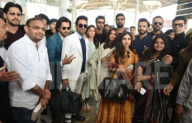 Karan Johar, Rohit Shetty, Ranveer Singh, Vicky Kaushal, Ranbir Kapoor, Alia Bhatt, Ayushmann Khurrana, Varun Dhawan, Sidharth Malhotra, Rajkummar Rao, Ekta Kapoor, Bhumi Pednekar