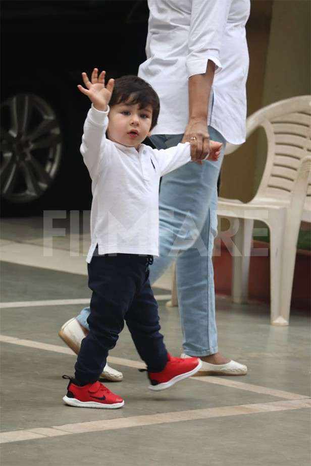 8 Pictures Of Taimur Ali Khan Which Will Leave You Smiling