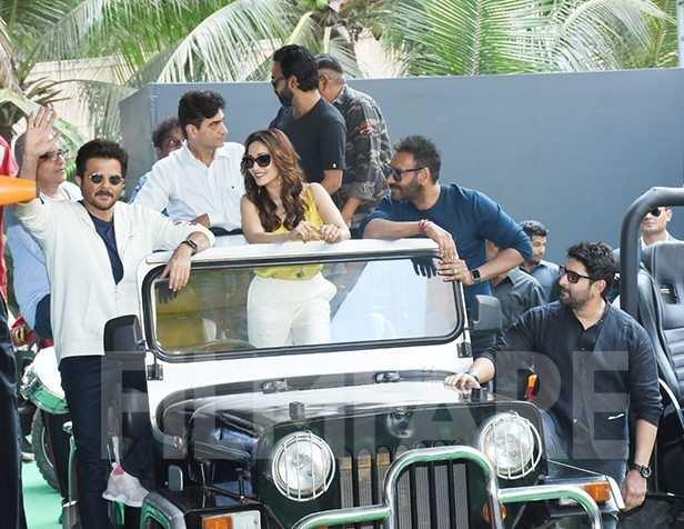 Anil Kapoor, Madhuri Dixit, Ajay Devgn, Arshad Warsi
