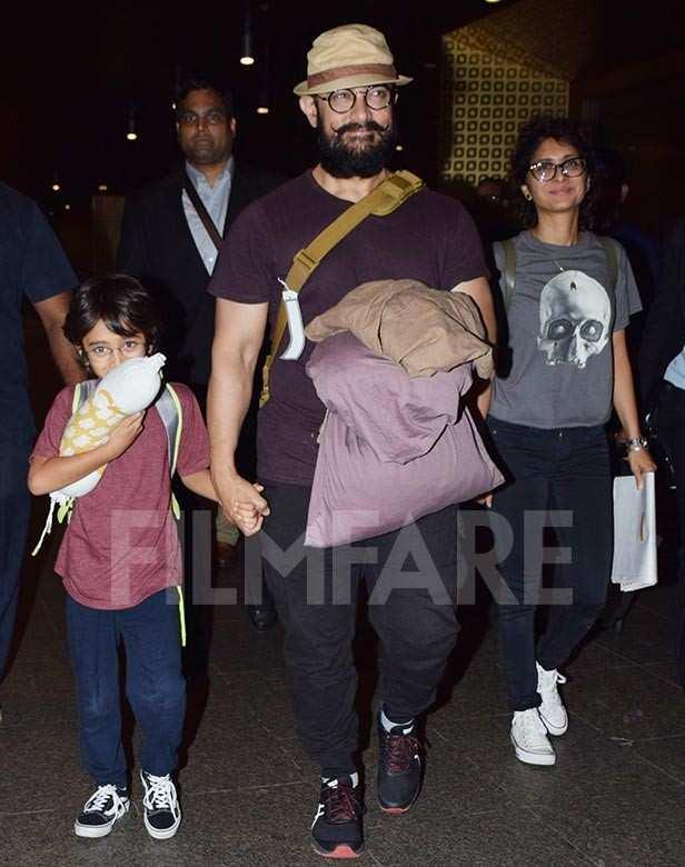 Azad Rao Khan, Aamir Khan, Kiran Rao