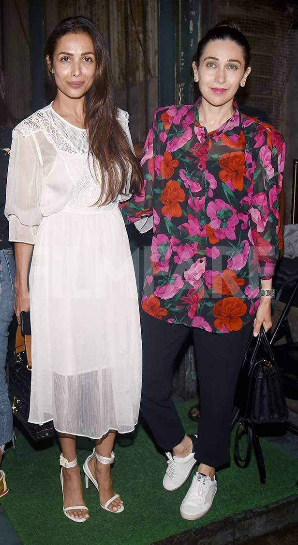 Malaika Arora, Karisma Kapoor